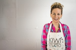 Dena O'Brien profile studio shot