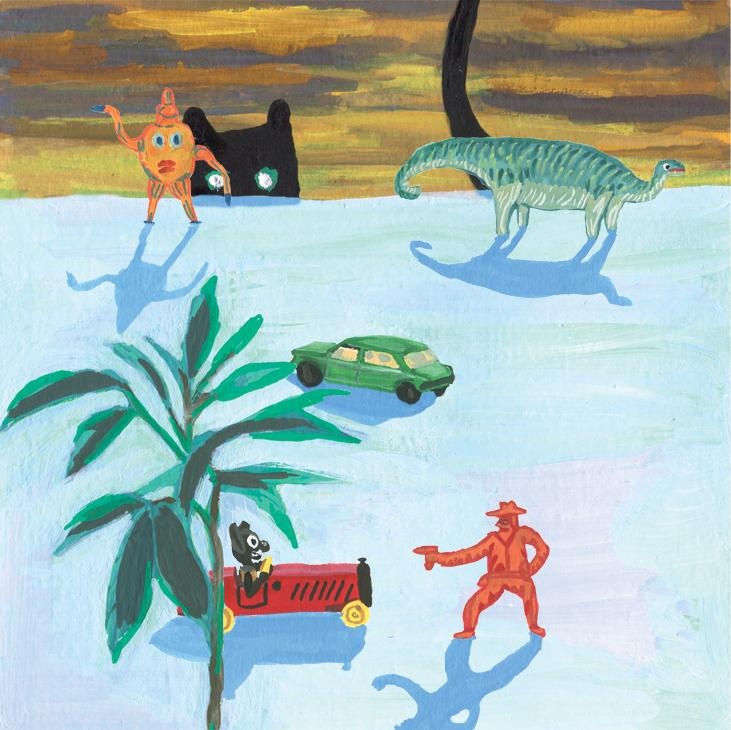 Bridie Cheeseman Peeping cat. Giclee print. £25.00. (BC002)